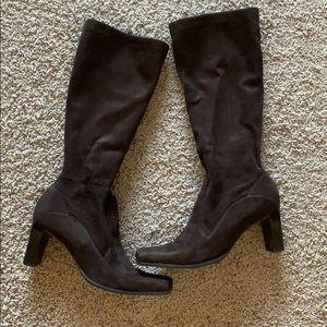Chocolate brown Franco Sarto boot  size 9